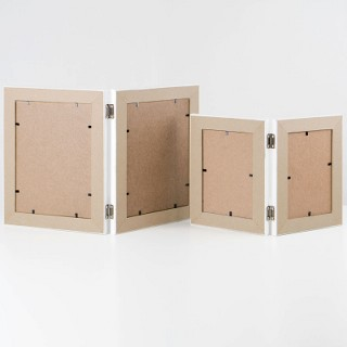 Twin 1.5-inch Desktop Wooden Frames