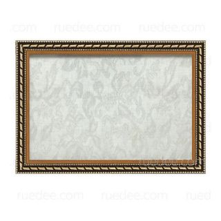 0.5-inch Wooden Gold Rope Frame