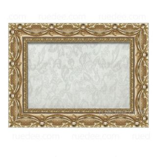 1.5-inch Curtains-Carved Wooden Frame